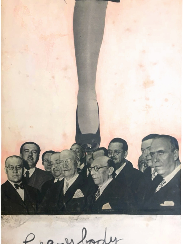 Everybody knows LauraUPS Collage Leonard Cohen